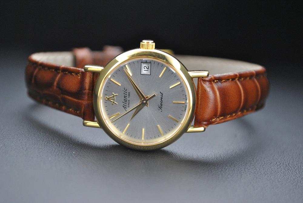 Женские швейцарские часы Atlantic 10340.45.21. Секрет коллекции Seacrest кроется в названии. . С такими часами Вы
