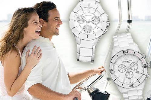 Часы Subaru STI наручные женские белые / Одежда и