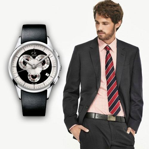 Описание: в стиле casual. Мужские часы Calvin
