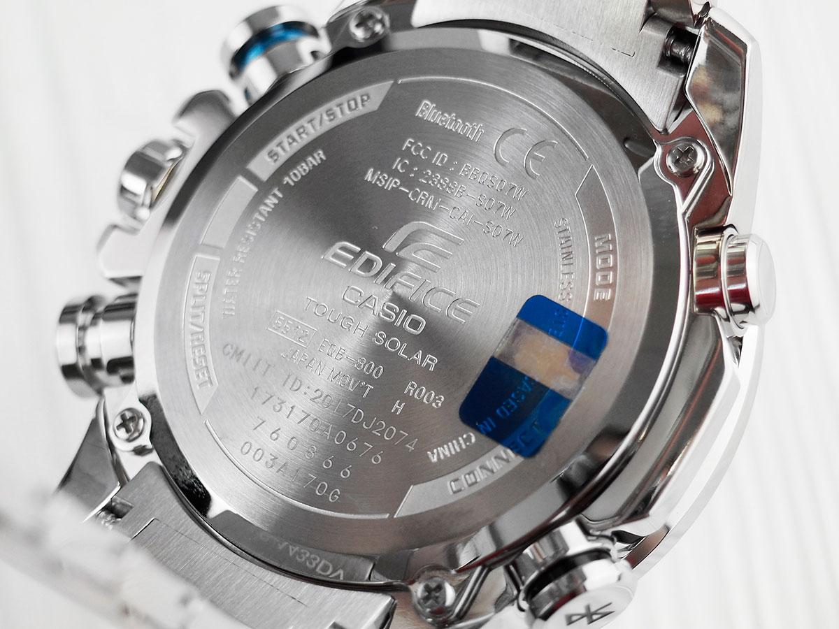 Часы касио эдифайс екб 800