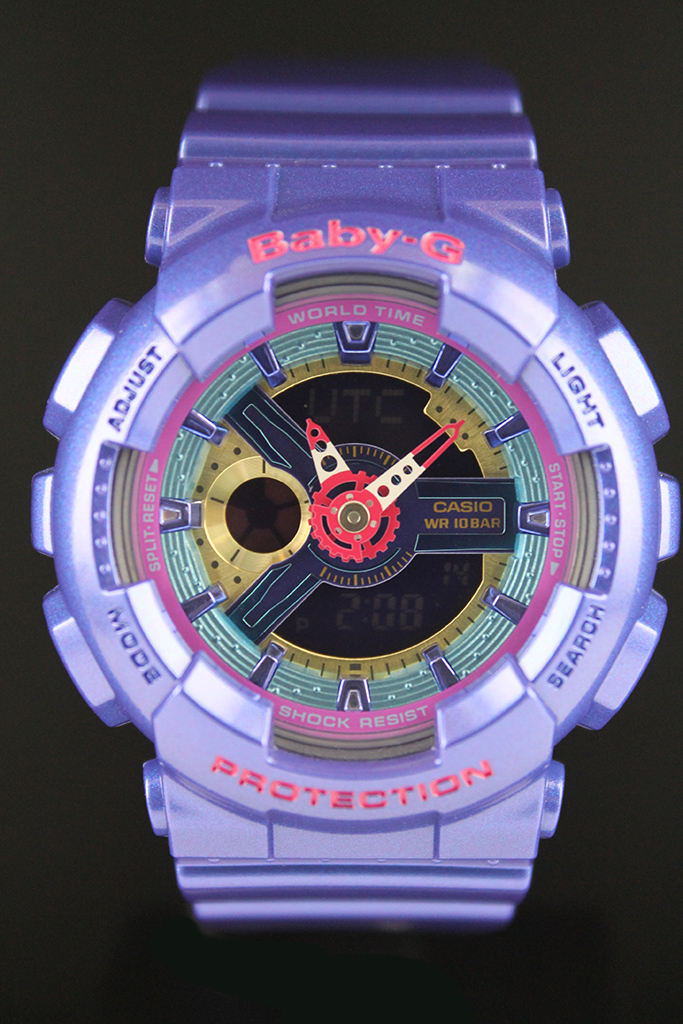 Женские часы Casio BA-112-2A Мужские часы Vostok Europe 6S11/320C260