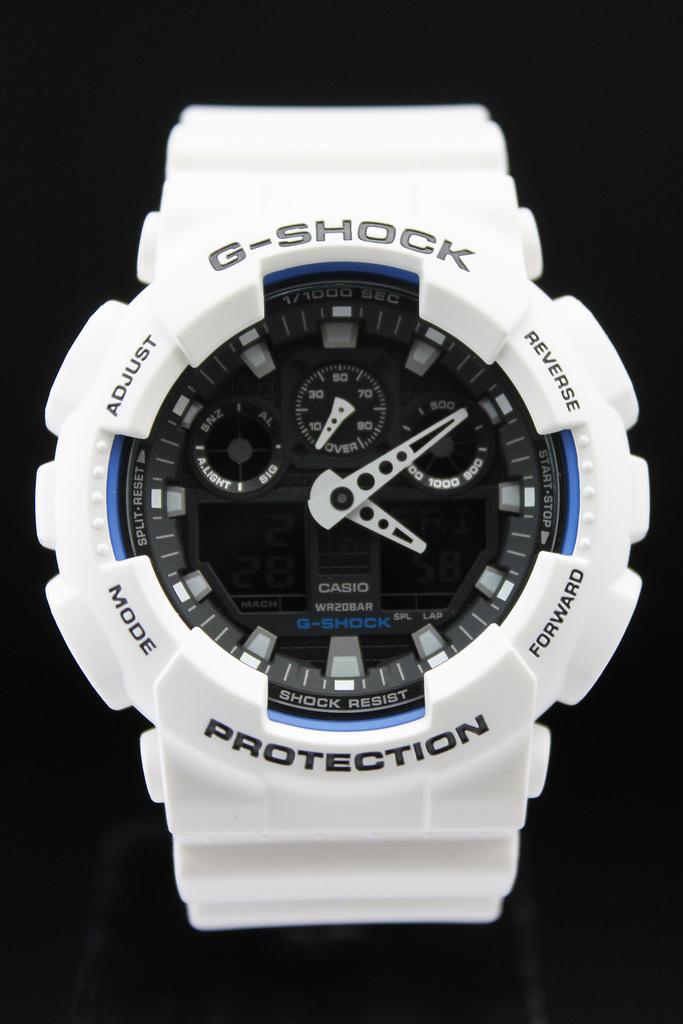 Часы g shock мужские белые