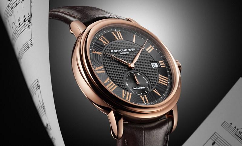 Мужские наручные часы с браслетом