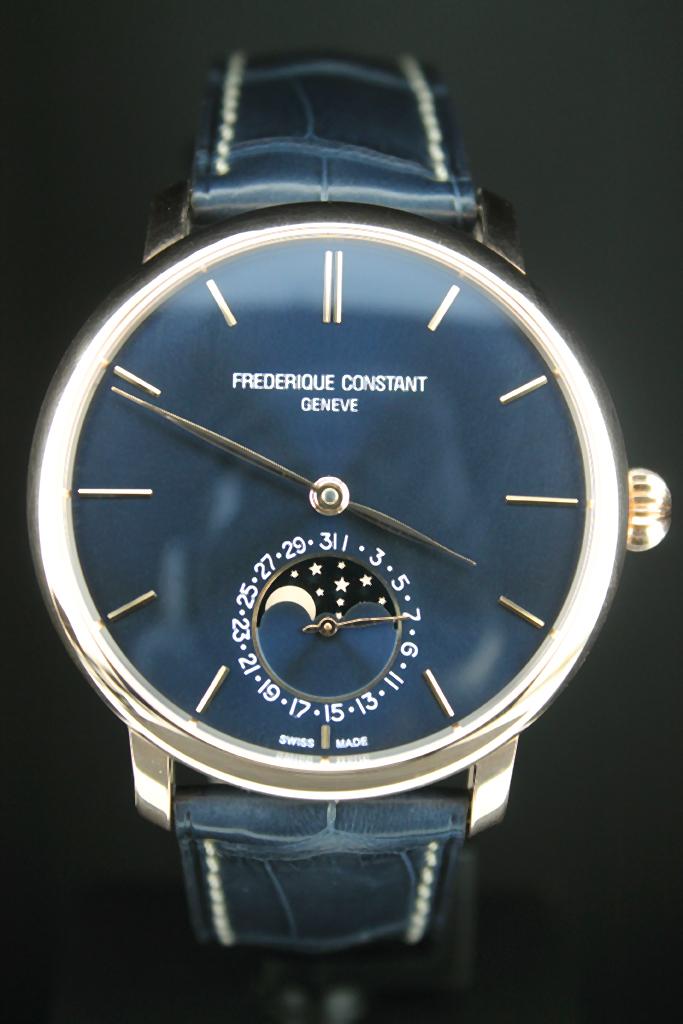 Коллекция часовых механизмов собственного производства frederique constant ежегодно пополняется.