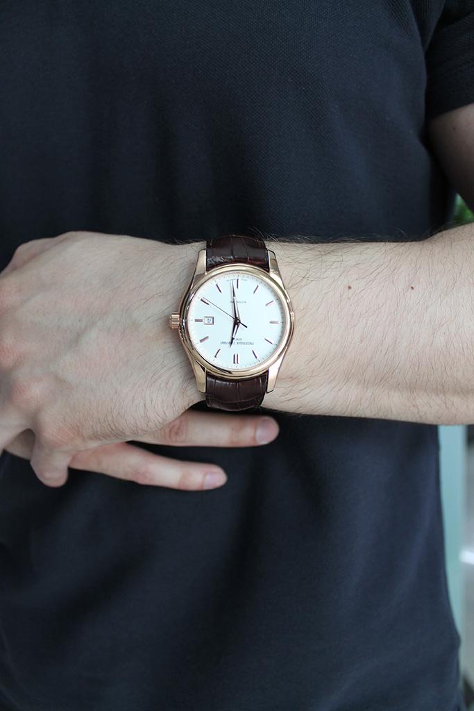 наручные часы с позолотой