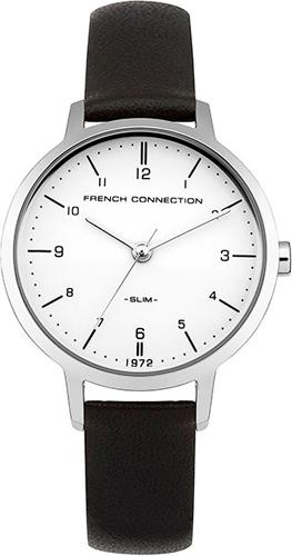 Женские часы белый кожаный ремень на какой сторону застегивается мужской ремень