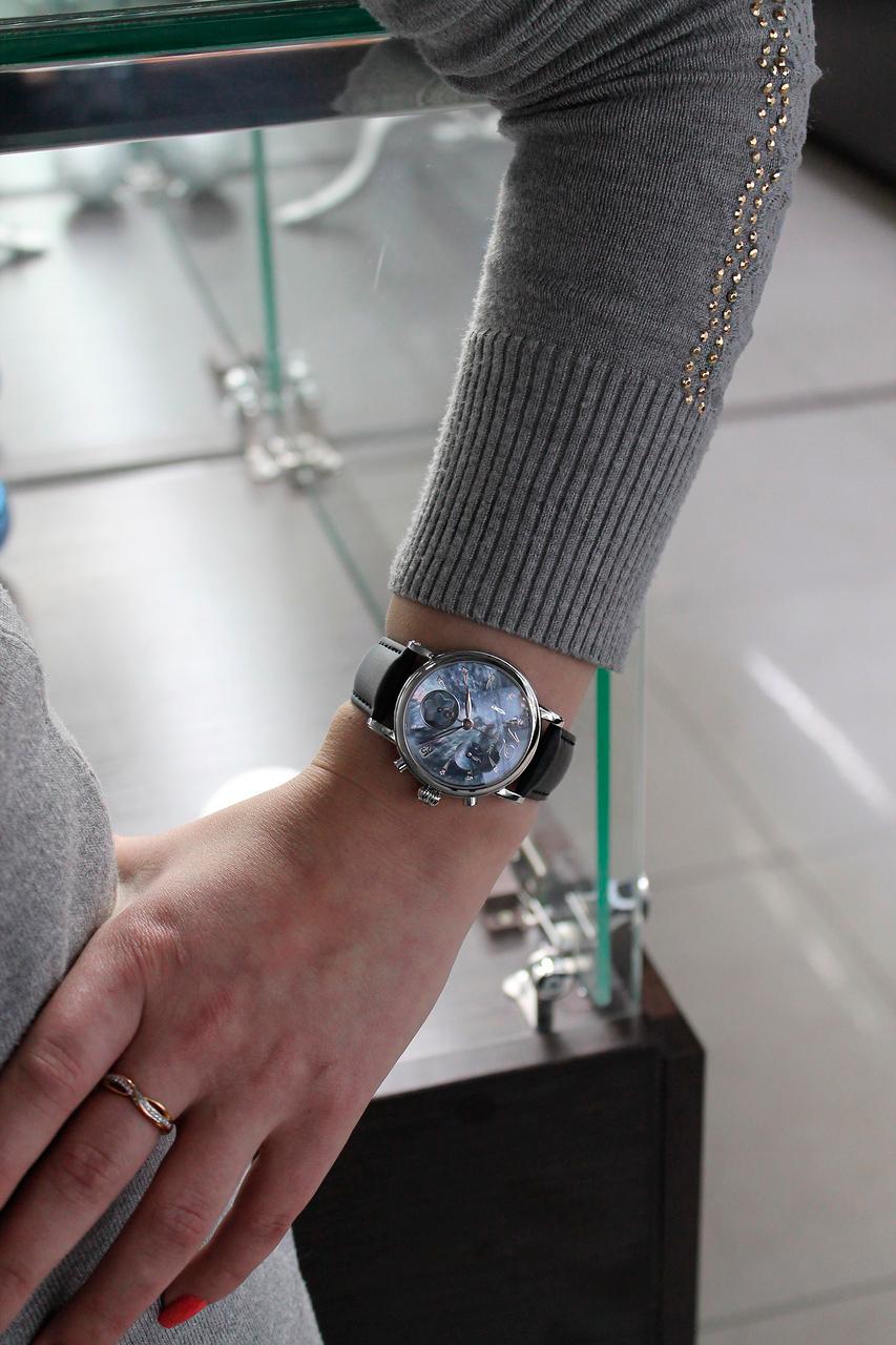 Мужские часы на узенькое запястье