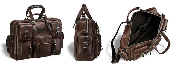 32e0719f67af Мужская кожаная сумка. Как выбрать идеальную модель — блог AllTime.ru
