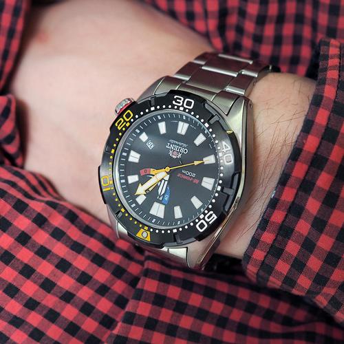 Обзор часов Orient M-Force EL0A001B