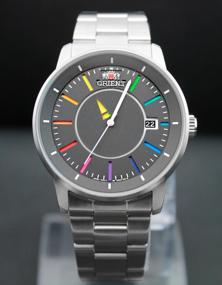 Часы с цветным циферблатом