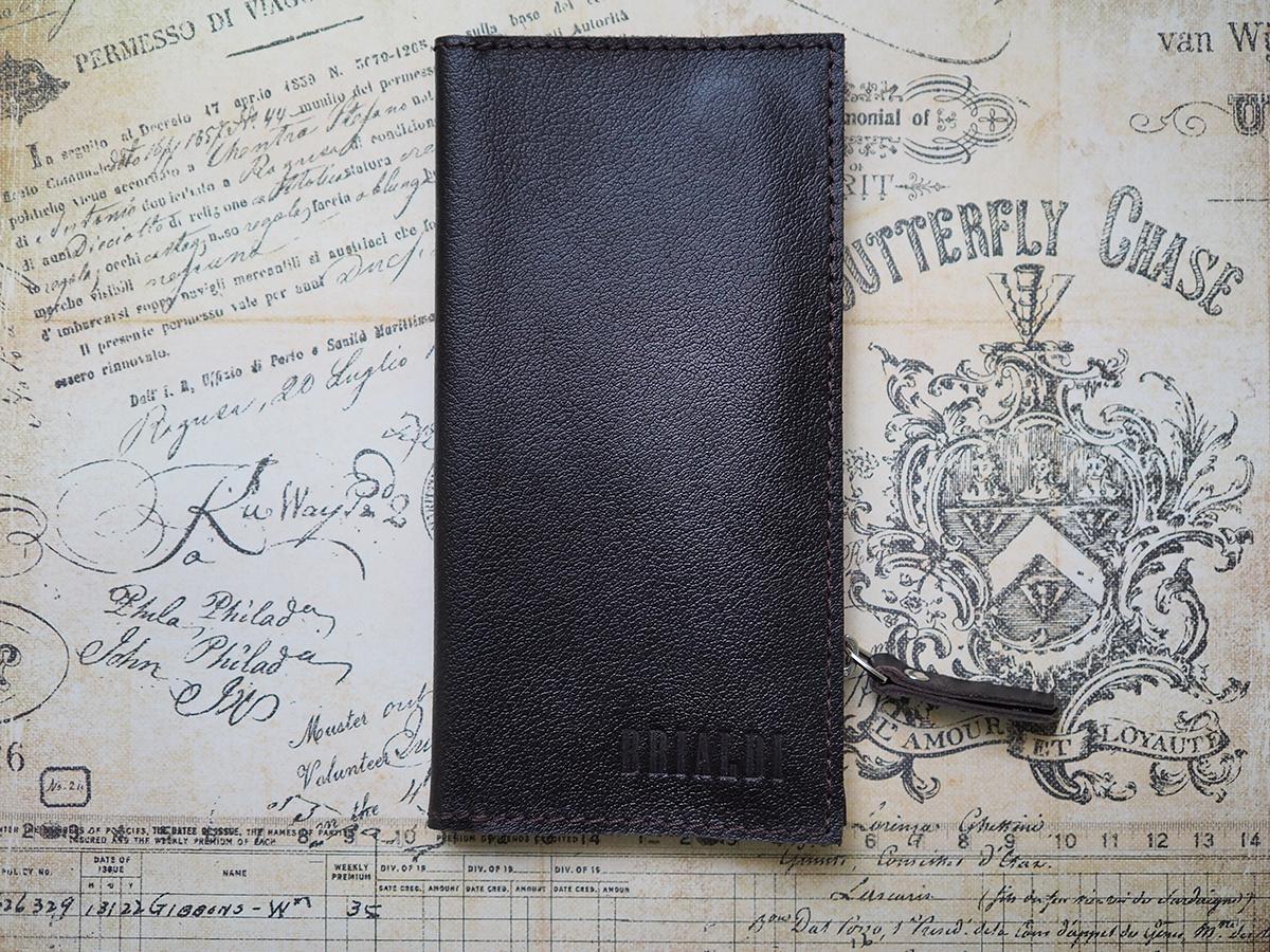 Мужской кожаный кошелек для нагрудного кармана Brialdi FERMO-br ea695a11598