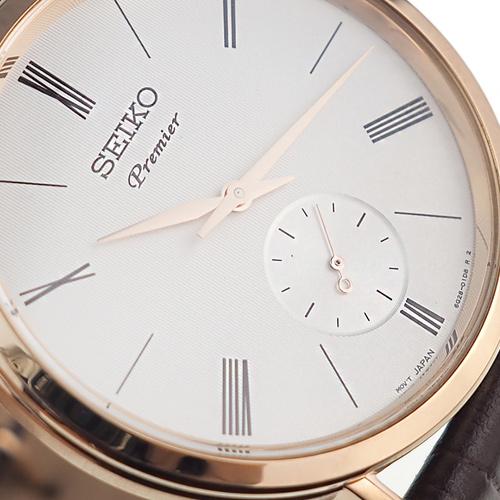 Обзор мужских часов Seiko из коллекции Premier