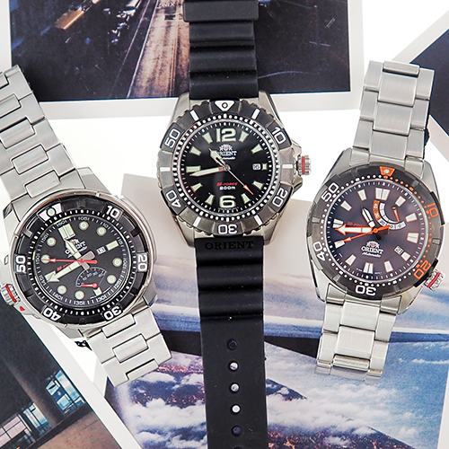 Обзор часов Orient из коллекции M-Force