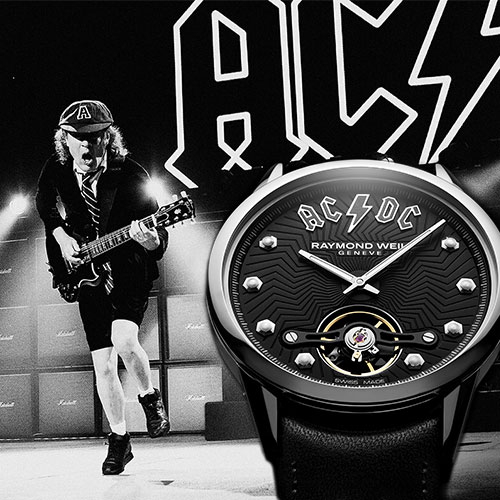 В темпе рока: Freelancer AC/DC Limited Edition от Raymond Weil