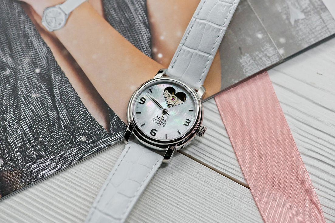 eab4fd08f142 Швейцарские механические наручные часы Epos Ladies 4314.133.20.50.10