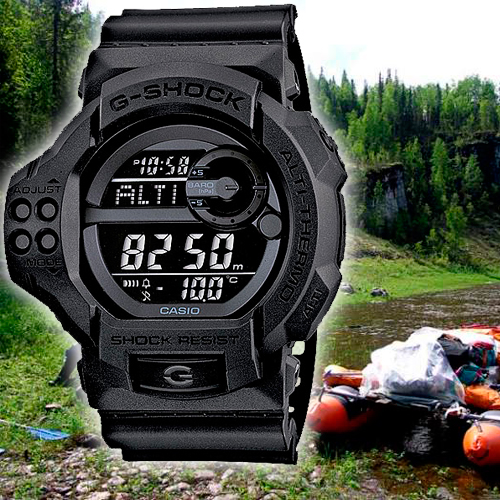 Casio Collection Anadigi часы для охоты и рыбалки