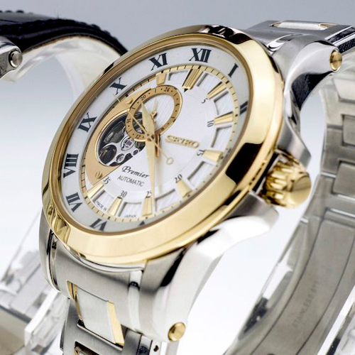 Обзор наручных часов Seiko из коллекции Premier