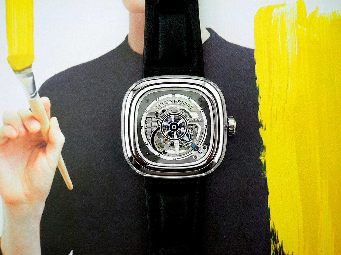 Мужские швейцарские механические наручные часы SEVENFRIDAY S-Series S1 01 e8e07563f72