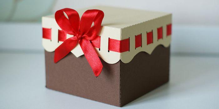 Красивая коробочка своими руками на день рождения видео