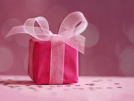 подарками на святого Валентина