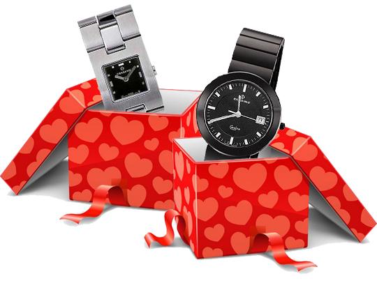 Днем Святого Валентина подарки