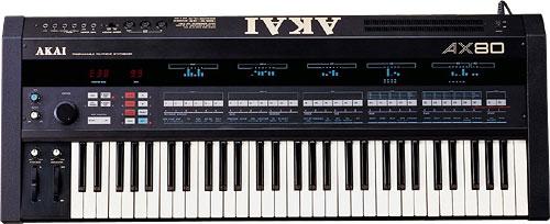 Синтезатор AKAI AX-80