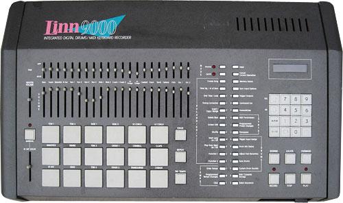 Сэмплерная драм-машина AKAI Linn 9000