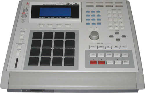 Сэмплер AKAI MPC3000