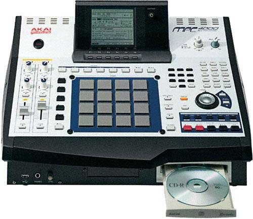 Сэмплер AKAI MPC-4000