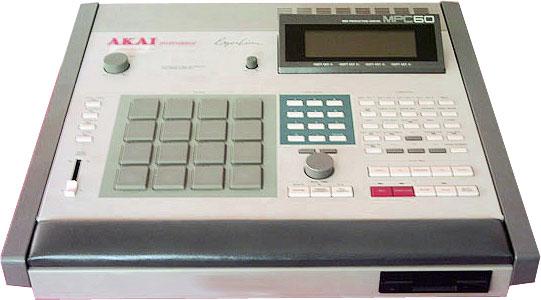 Семплер AKAI MPC60