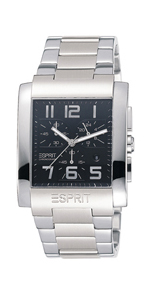Esprit Аdmiral Black Metal Chrono
