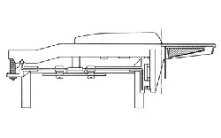 Схема механизма клавиатуры FATAR TP/8HO