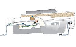 Схема механизма клавиатуры FATAR TP/40 WOOD