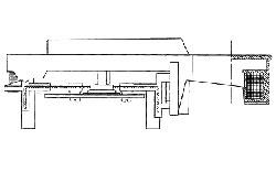 Схема механизма клавиатуры FATAR TP/9 PIANO