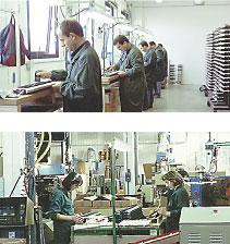 Момент сборки клавиатур на фабрике FATAR