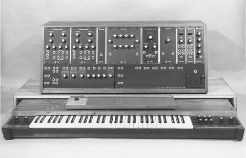Синтезатор Moog Modular, 1967