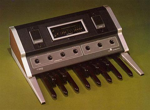 Педальный синтезатор MOOG Taurus 1, 1978
