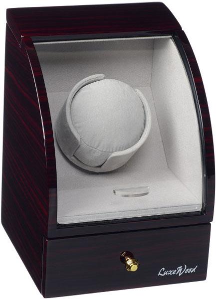 Luxewood LW321-5 шкатулка для наручных часов lotus черная