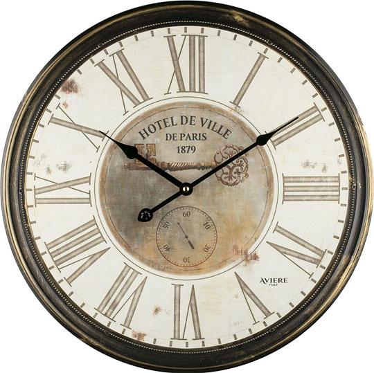 Настенные часы aviere 25610_a