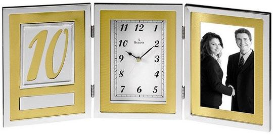 Настольные часы Bulova B1233 bulova часы bulova 96w203 коллекция diamonds