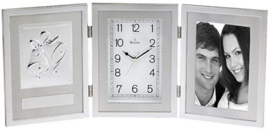 Настольные часы Bulova B1235 bulova часы bulova 96w203 коллекция diamonds