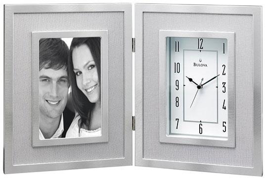 Настольные часы Bulova B1238 bulova часы bulova 96w203 коллекция diamonds
