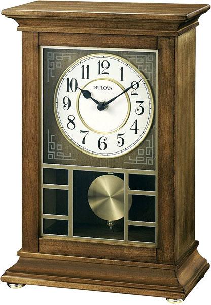 Настольные часы Bulova B1654 бусы из имитации янтаря юрмала
