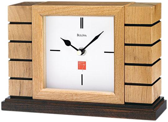 Настольные часы Bulova B1659 туфли frank wright frank wright fr621amlee37