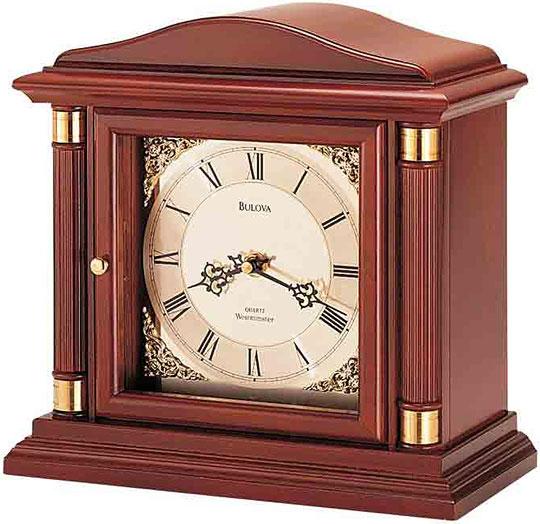 Настольные часы Bulova B1843 настольные часы bulova b1843