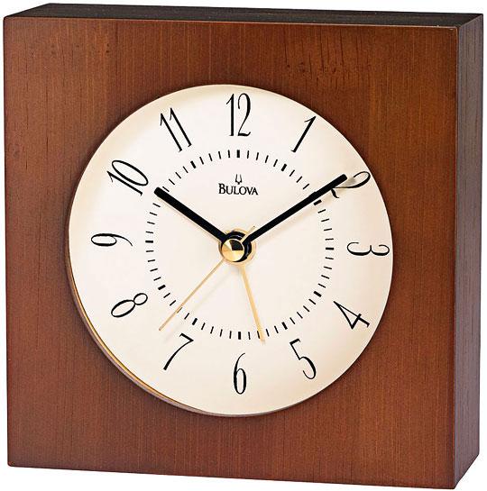 Фото #1: Настольные часы Bulova B6848-ucenka