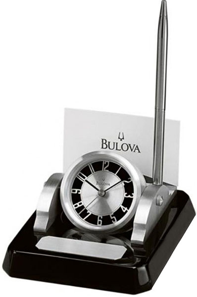 Настольные часы Bulova B7249 bulova 98a157