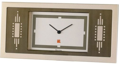 Настольные часы Bulova B7733 туфли frank wright frank wright fr621amlee37