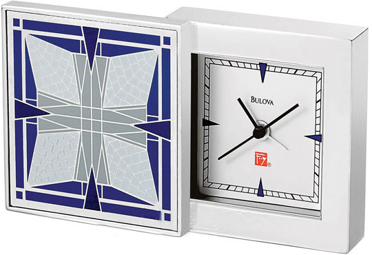 Настольные часы Bulova B7759 туфли frank wright frank wright fr621amlee37