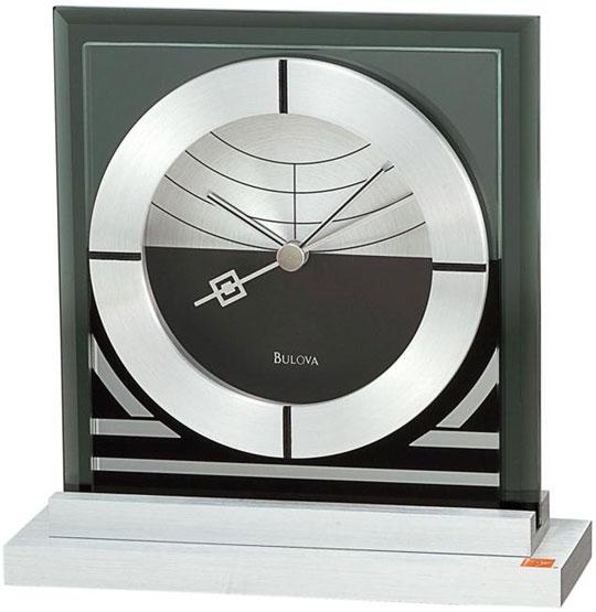 Настольные часы Bulova B7762 настольные часы bulova b7662